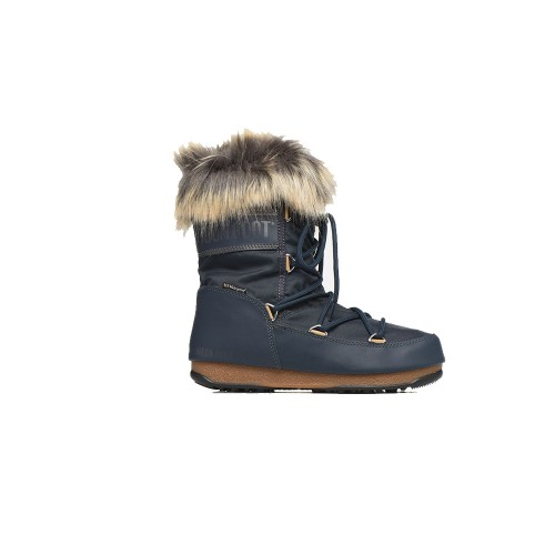 MOON BOOT MONACO LOW WP 2 Boot Navy Blue