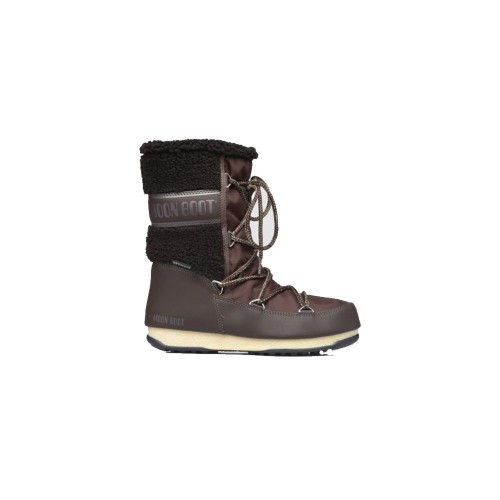 Bota MOON BOOT MONACO WOOL MID WP Color Marrón