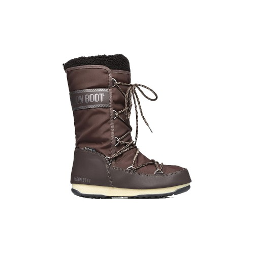 High Boots Moon Boot Monaco Wool WP Colour Brown