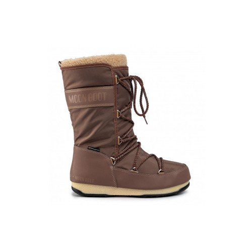 Botas Altas Moon Boot MONACO WOOL WP Color Marrón / Mud
