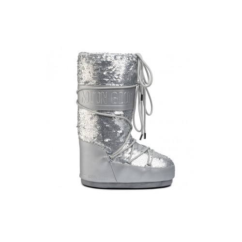 Botas Altas MOON BOOT CLASSIC DISCO PLUS Color Plata