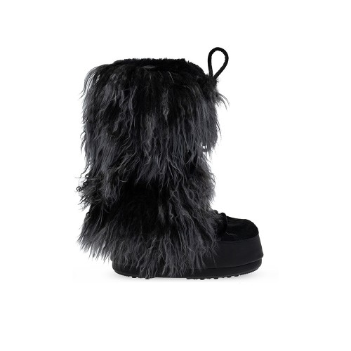 Botas Altas de Piel MOON BOOT Night Color Negro