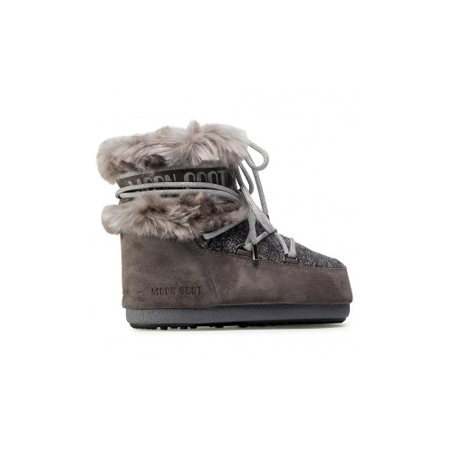 Botín MOON BOOT MARS WOOL FUR Color Gris