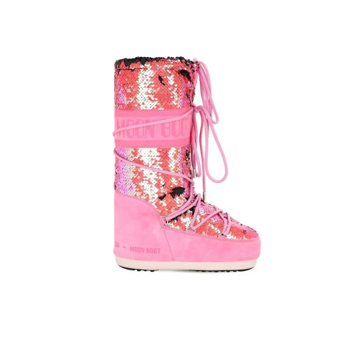Botas Altas MOON BOOT CLASSIC DISCO Color Fucsia