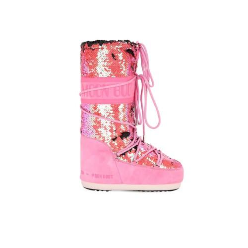 High Boots MOON BOOT CLASSIC DISCO Color Fuchsia