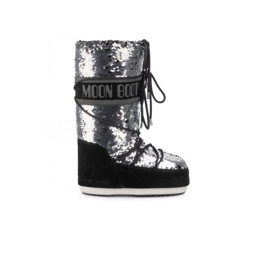 Botas Altas MOON BOOT CLASSIC DISCO Color Negro