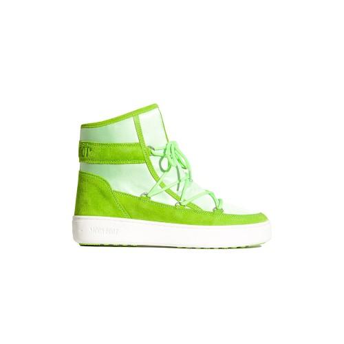 Stivaletto MOON BOOT PULSE Z SATÍN Color Verde