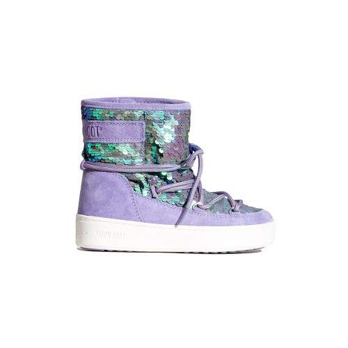 Botín MOON BOOT PULSE MID DISCO Color Lila / Crocus