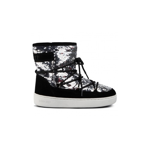 Ankle Boots MOON BOOT PULSE MID DISCO Color Black