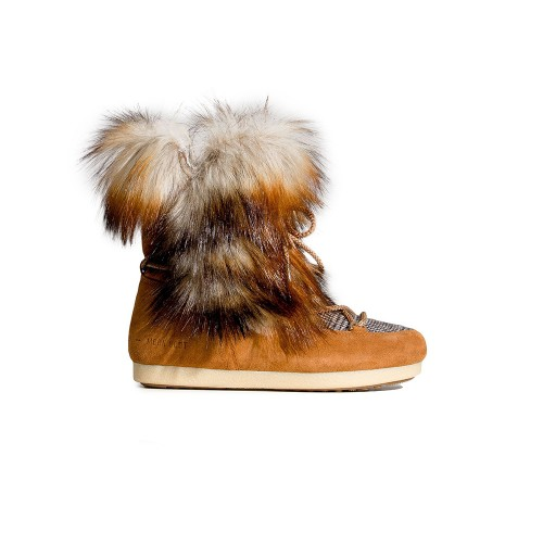 Stivaletto MOON BOOT FAR SIDE HIGHT FAUX FOX FUR Color...
