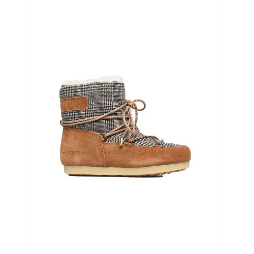 Botín MOON BOOT FAR SIDE LOW FUR / TARTAN Color Check...