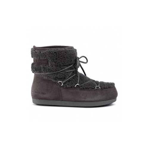 Stivaletto MOON BOOT FAR SIDE LOW SHEARL Colore Antracite
