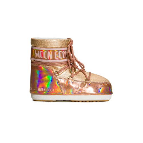 Botín MOON BOOT MARS MIRROR Color Bronce ( Rose /Pink )