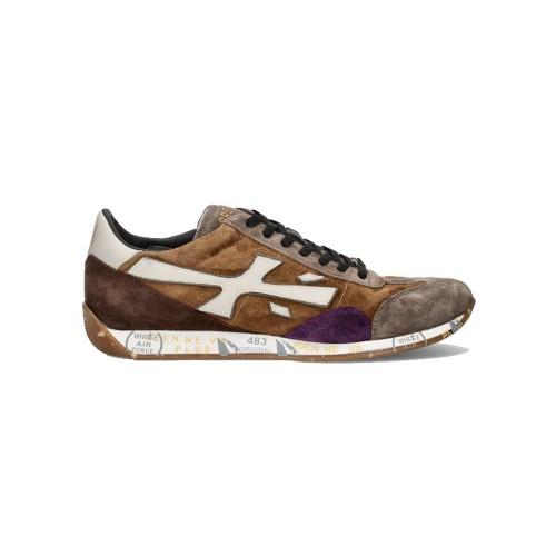 Brown Suede Sneakers JACKYX 5007