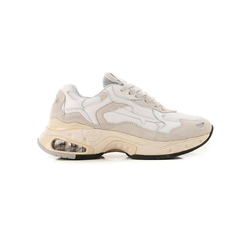 Sneakers de Piel Premiata SHARKYD 0023D Color Blanco