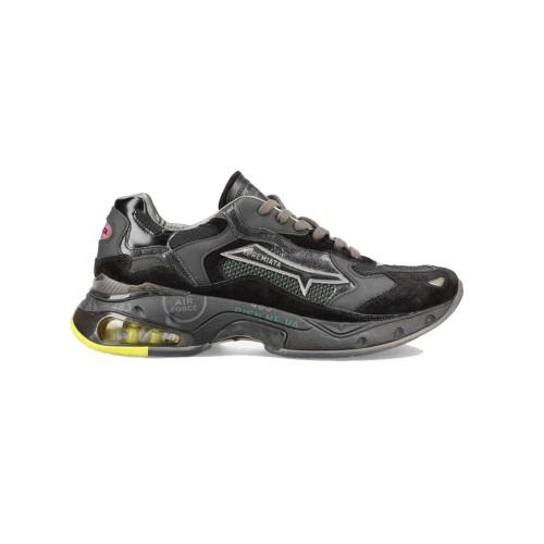Sneakers di pelle Premiata SHARKYD 068 colore nero