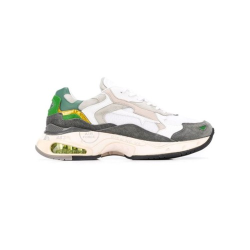 Leather Sneakers PREMIATA SHARKY 010 Colour White and Grey