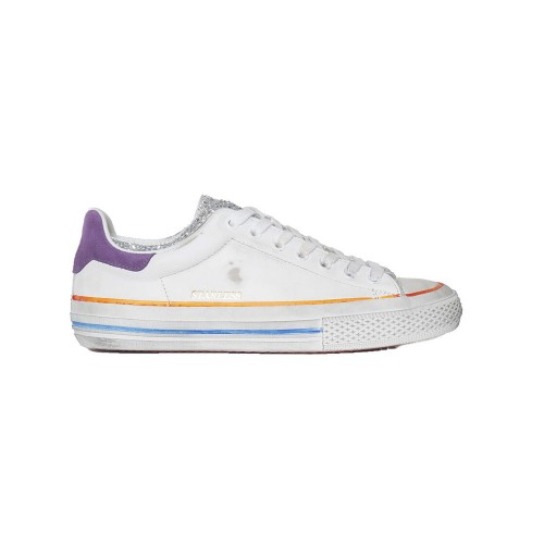 Sneakers Piel Hidnander STARLESS LOW Color Blanco y...