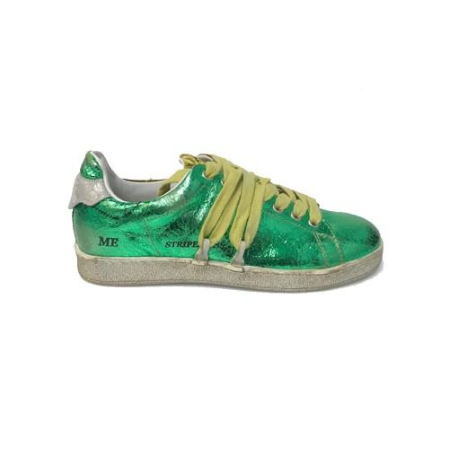 Sneakers Hidnander TWINER WSTS19Y01V4 Color Verde y Amarillo