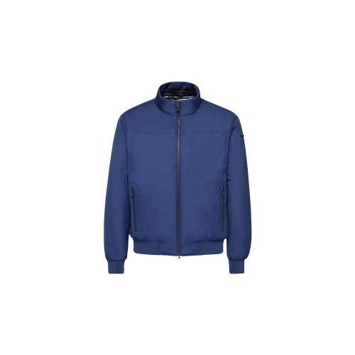Chaqueta Bomber Geox  VINCIT M0420C Color Azul