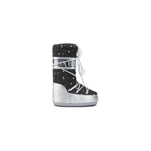 Botas de Nieve MOON BOOT JR GIRL UNIVERSE Color Negro