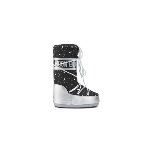 Snow  BOOTS MOON BOOT JR GIRL UNIVERSE Colour Black