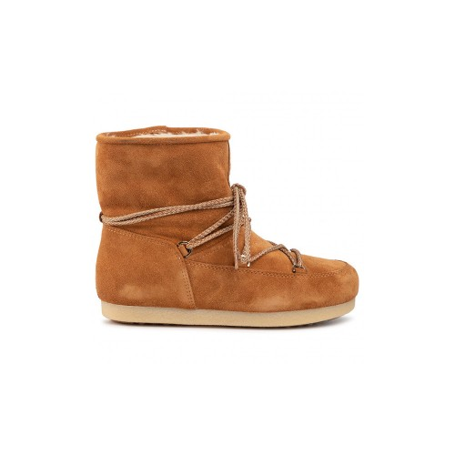 Booty for Children MOON BOOT FAR SIDE JR LOW SUEDE Color...
