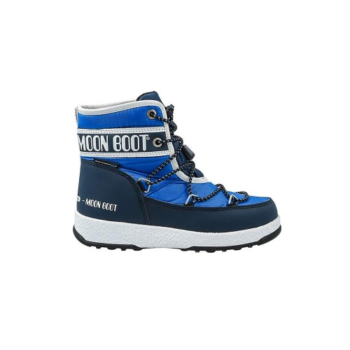 Ankle Boot for Children MOON BOOT JR BOY MID WP Color Blue