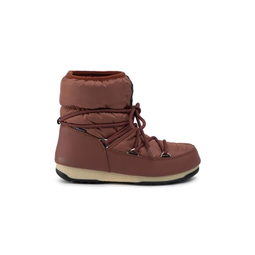 Booty MOON BOOT LOW NYLON WP 2 Colour Tile / Rust