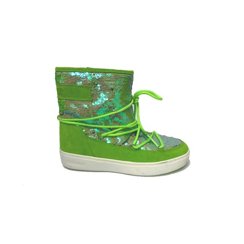 Botín MOON BOOT PULSE MID DISCO Color Verde