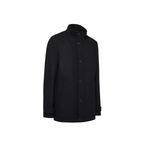 Abrigo GEOX M0415B PISA COAT Color Azul Marino