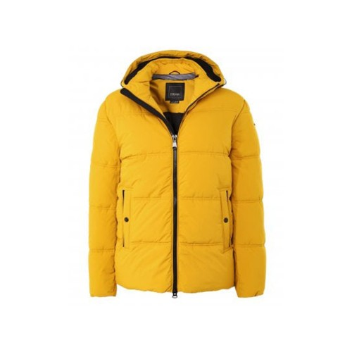 Down Jacket GEOX M0428S BRODERICK Color Yellow / Mustard