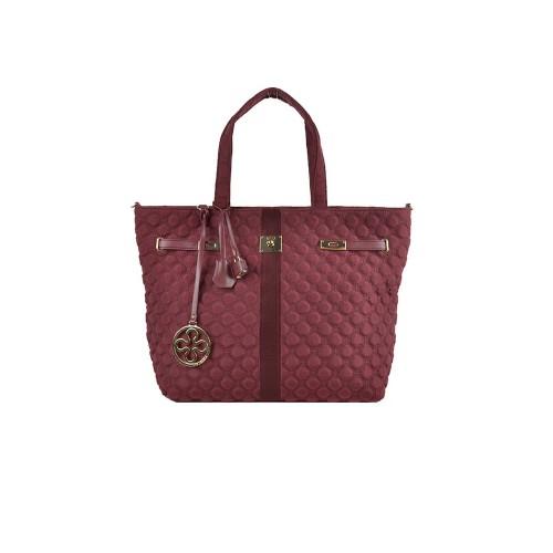 Bolso Vº 73 810V73001RO Nylon Bag Color Granate