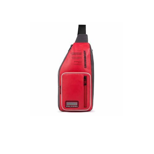 Bandolera de Piel Piquadro CA5147W106R Color Rojo