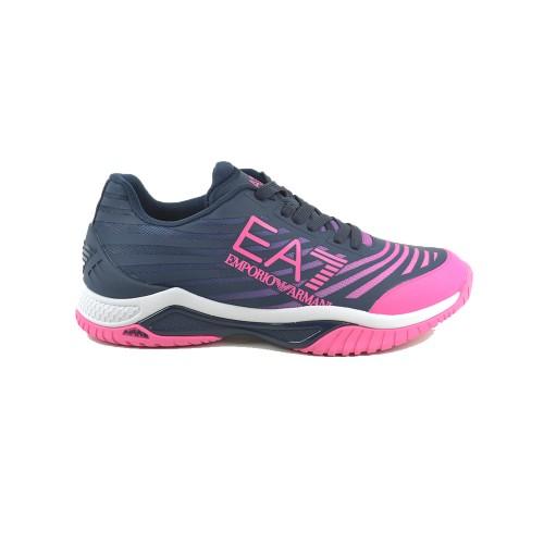 Sneakers EA7 Emporio Armani X8X079 XK207 Color Azul...
