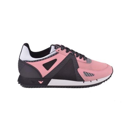Sneakers EA7 Emporio Armani X8X076 XK187 Colore Nero y Rosa