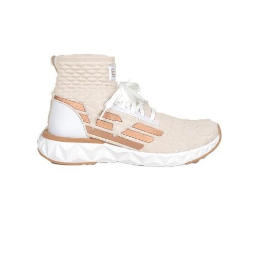 Sneakers Alte EA7 Emporio Armani X8Z021 XK197 Colore Beige