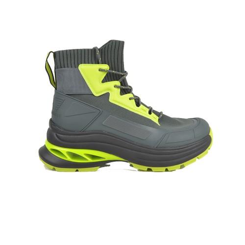 Sneakers Altas EA7 Emporio Armani X8Z025 XK178 Color Kaki