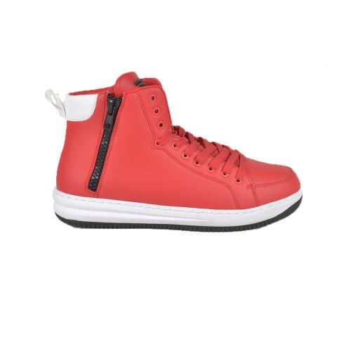 Sneakers Altas EA7 Emporio Armani X8Z007 XK025 Color Rojo