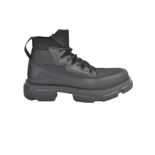 Sneakers Altas EA7 Emporio Armani X8Z024 XK167 Color Negro
