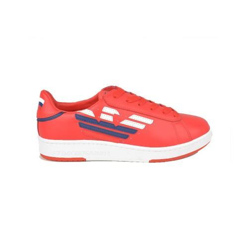 Sneakers EA7 Emporio Armani X8X043 XK149 Color Rojo