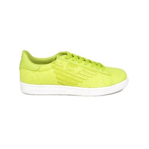 Sneakers EA7 Emporio Armani  X8X001 XK172 Colore Lime