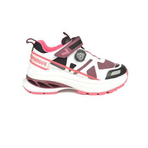 Sneakers EA7 Emporio Armani X8X065 XK146 Color Blanco y Rosa