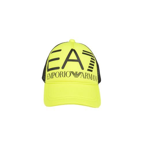 Cappellino EA7 Emporio Armani 274809 Colore Lime con Logo...