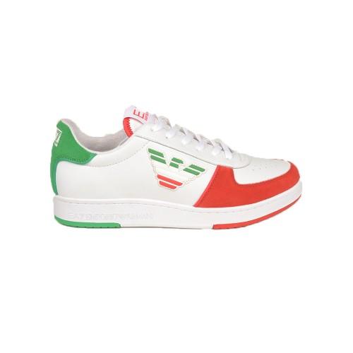 Sneakers EA7 Emporio Armani X8X073 XK176 Colore Bianco...