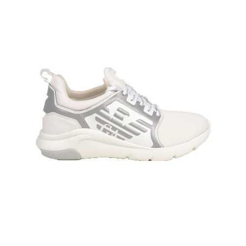 Sneakers EA7 Emporio Armani X8X057 XCC55 Color Blanco y Gris